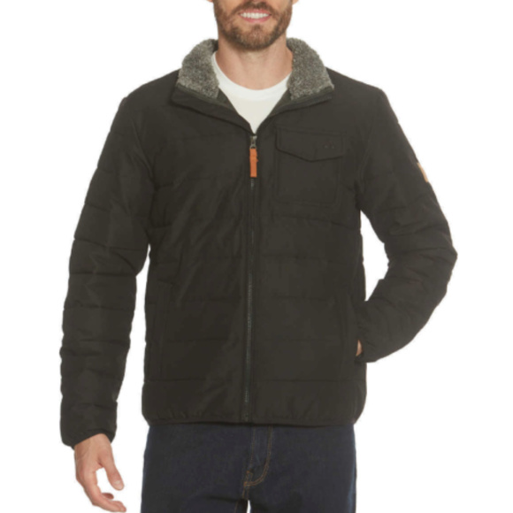 Gerry Mens Bearwood Workwear Quilted Insulated Jacket